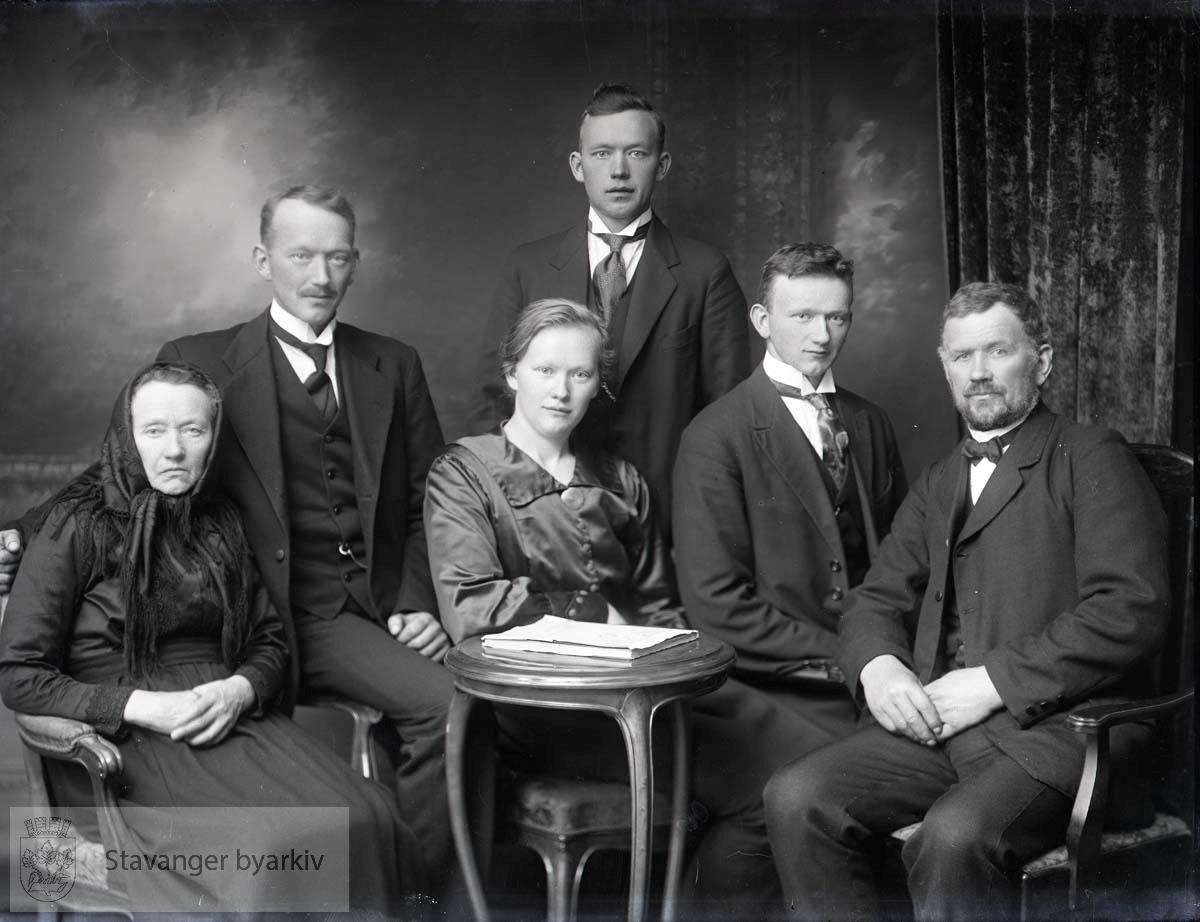 Familieportrett.