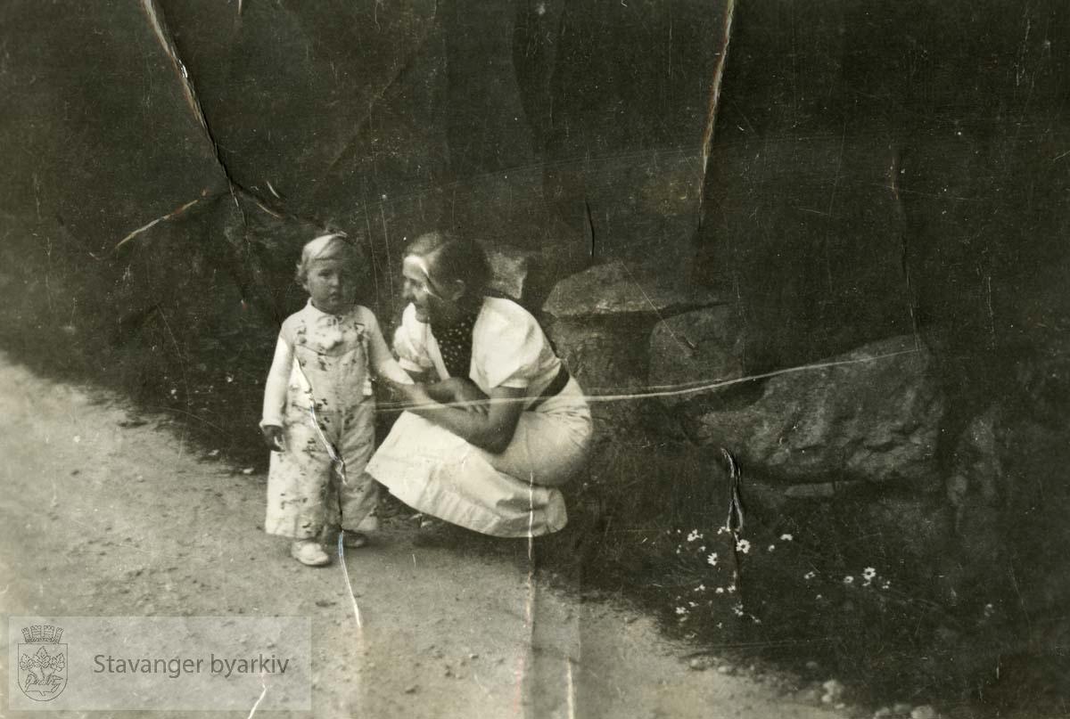 Kvinne og barn