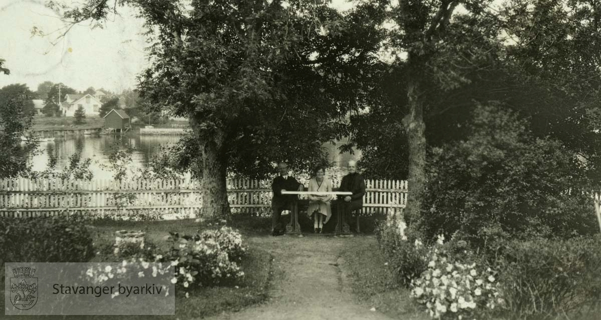 Poulssons hage i Tønsberg