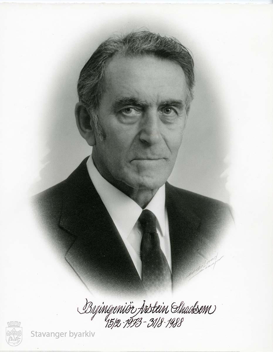 Byingeniør Årstein Skadsem 15.02.1973 - 31.08.1988