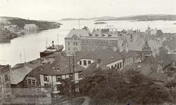 Innseilingen til Stavanger, tatt fra Valbergtårndet