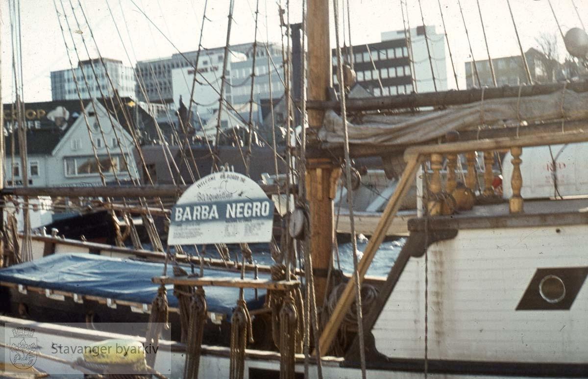 """Barba Negro"" til Skagenkaien .....Seilbåt.Seilskute.Seilskip"