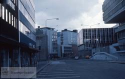 Lars Hertervigs gate mot Ny Olavskleiv