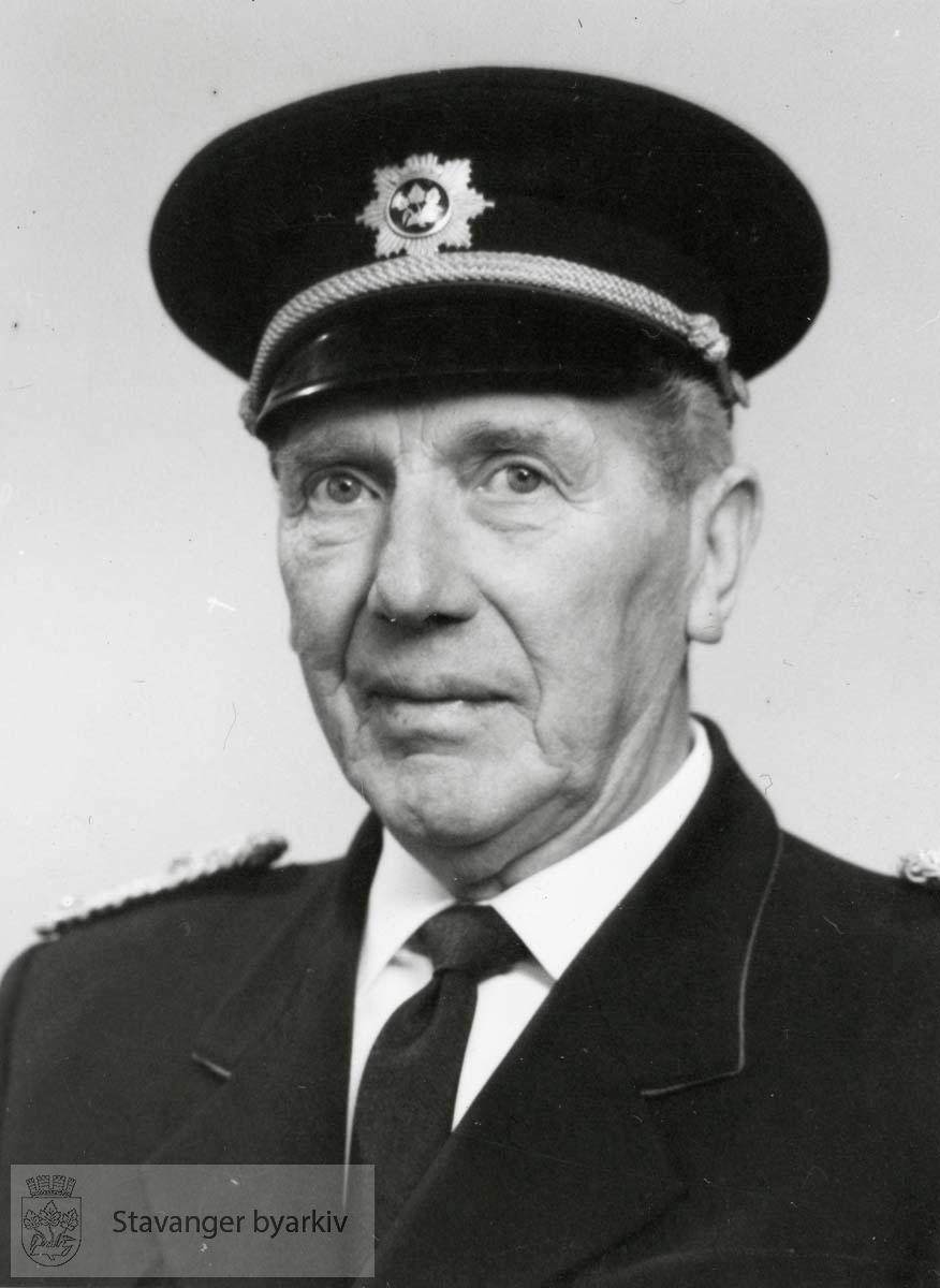 Karl Nag var overbrannmester fra 15.12.1923 til 1.7.1959