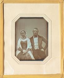 Daguerrotyp föreställande brukspatronen och hemmansägaren Ca