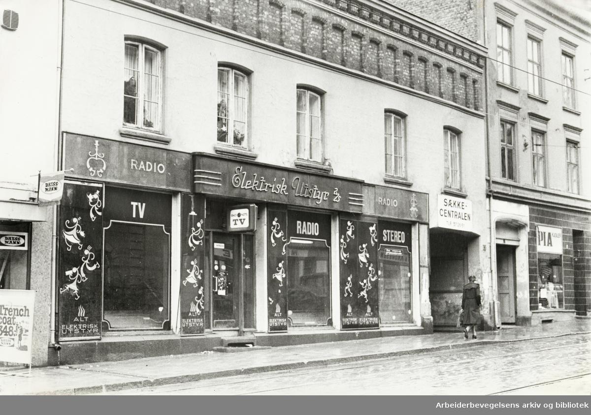 Grünerløkka. Thorvald Meyers gate 49. Mai 1980