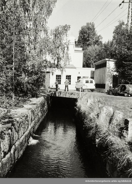 Hammeren kraftverk. 17. september 1981