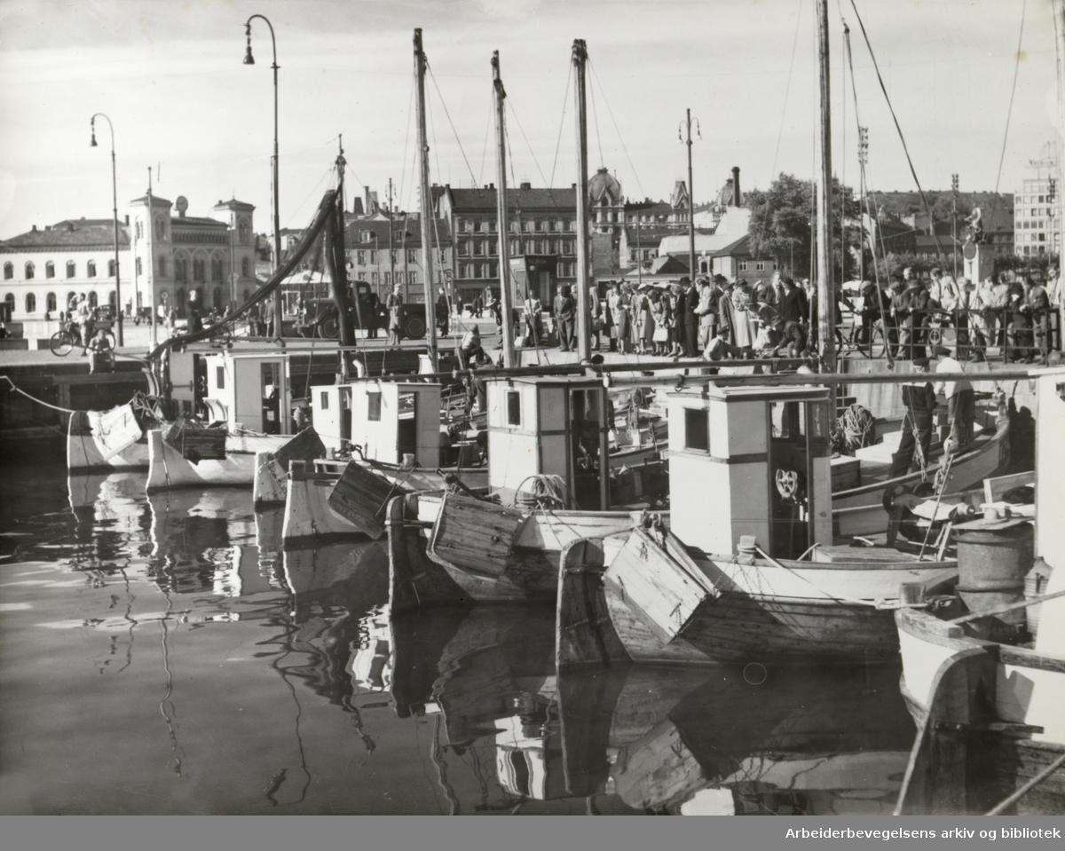 Havna. September 1952