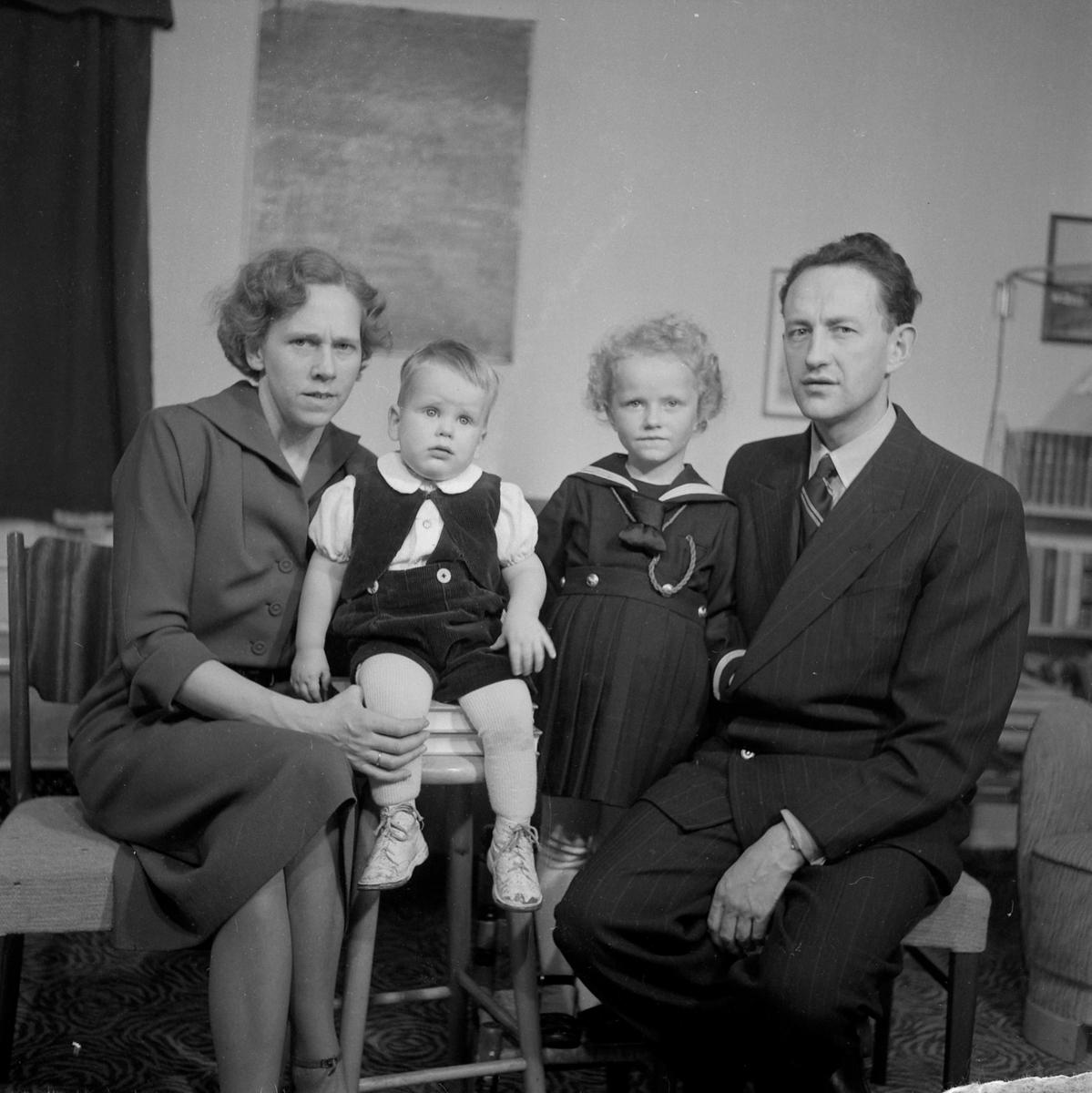 Odd Støren Castberg med familie