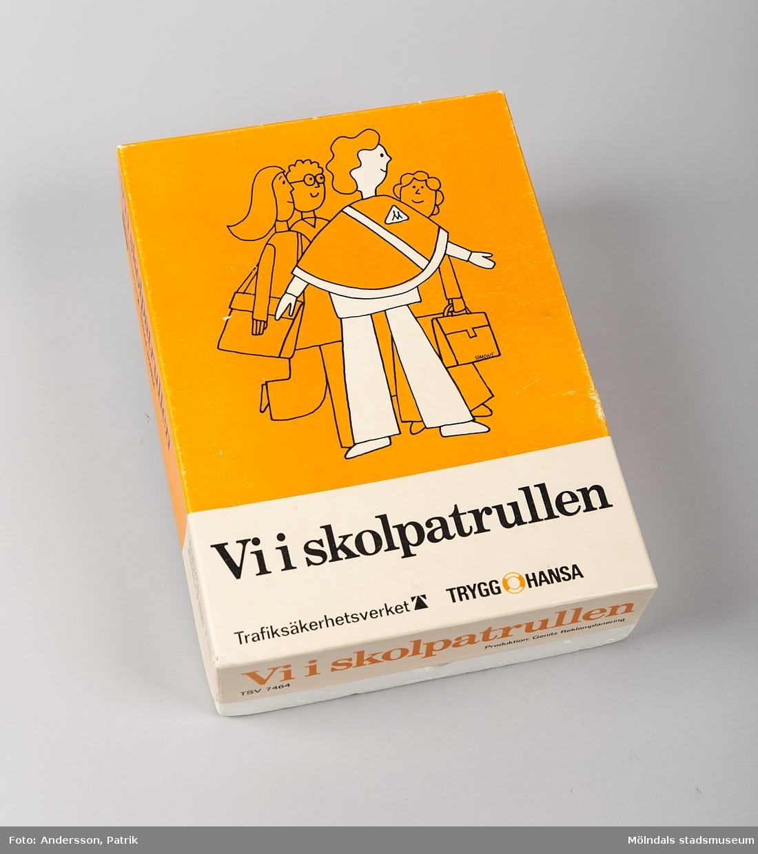 """""""Utbildning av skolpoliser"""", diabilder."""