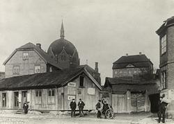 Oslo, Hammersborg, Trefoldighetskirken og Sorgenfri sett fra