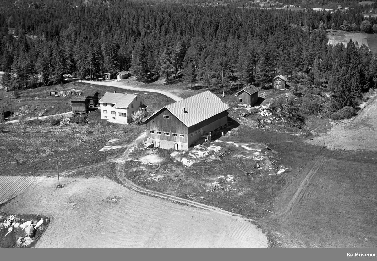 Flyfoto av Valen ved Svenseid, Nome
