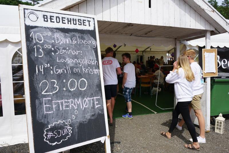 Bedehuset. Foto: Rockheim (Foto/Photo)