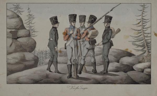 Soldater, Napoleonskrigen. Foto/Photo