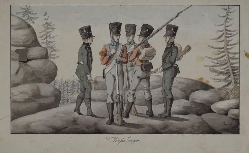 Soldater, Napoleonskrigen