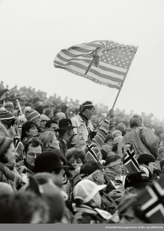 Holmenkollen. 15. mars 1993