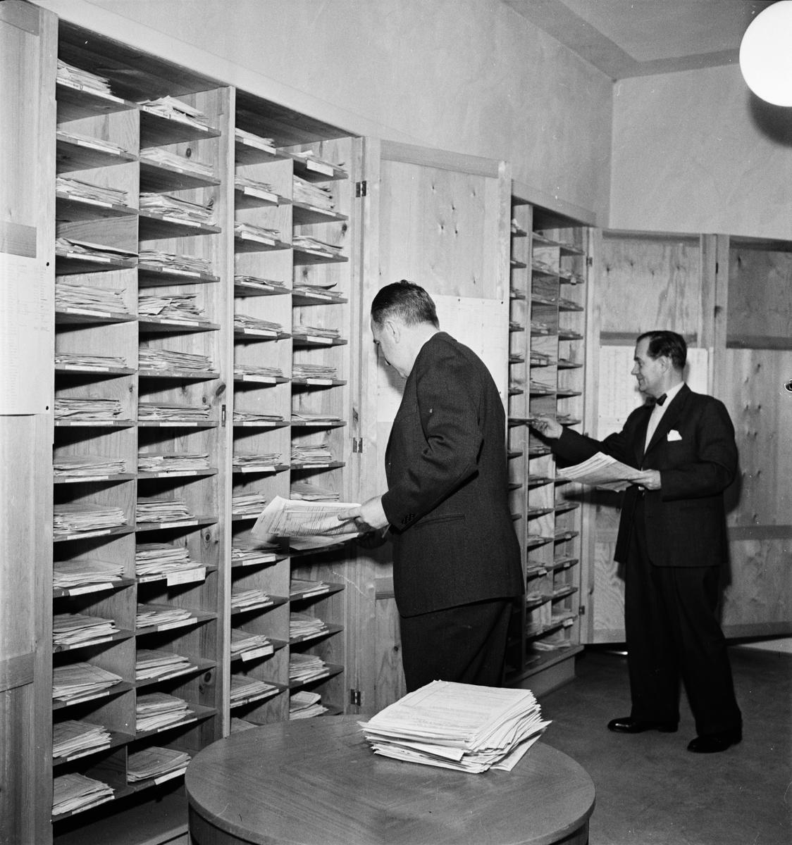 Deklarationer, Uppbördskontoret, Uppsala 1954
