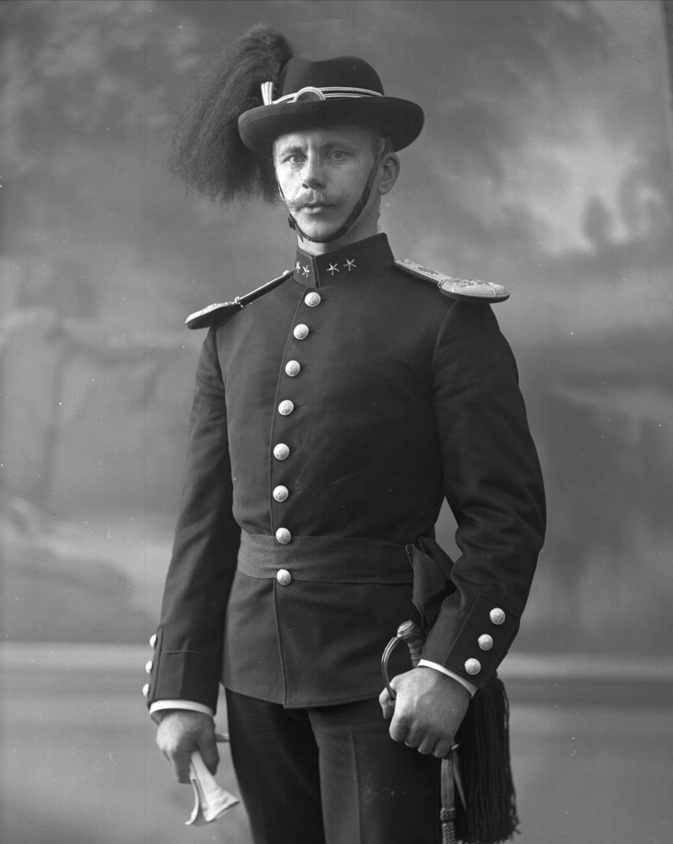 Norsk offiser som var i tjeneste i Fristaten Kongo og Belgisk Kongo mellom 1907 og 1918