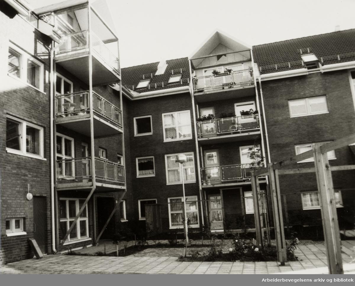 Jordal Borettslag. September 1987