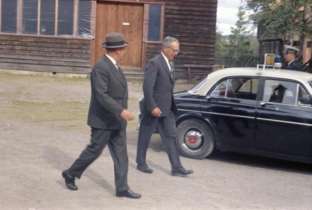 Kongebesøket 1964. Fargeneg. foto H. Skirbekk