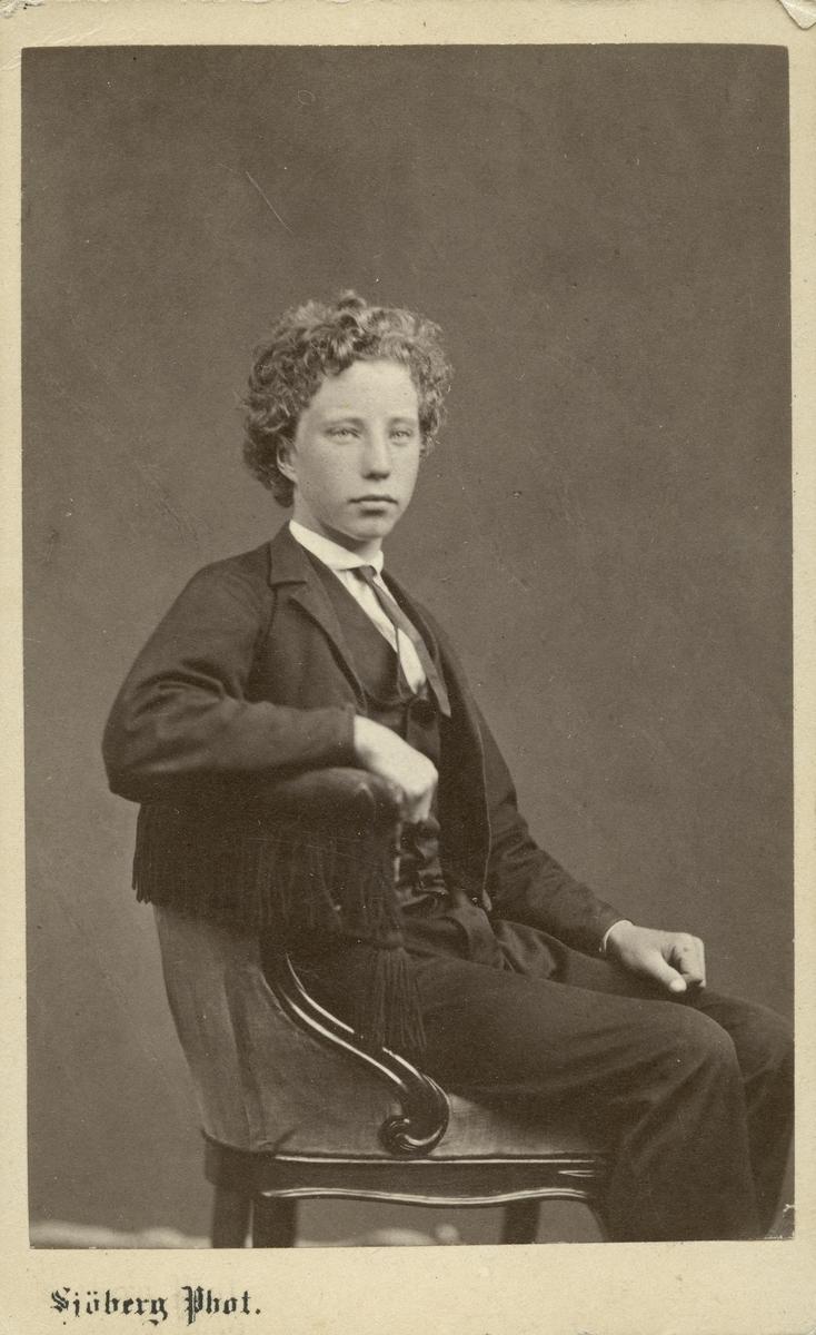 Robert Bäcklin, 1866.