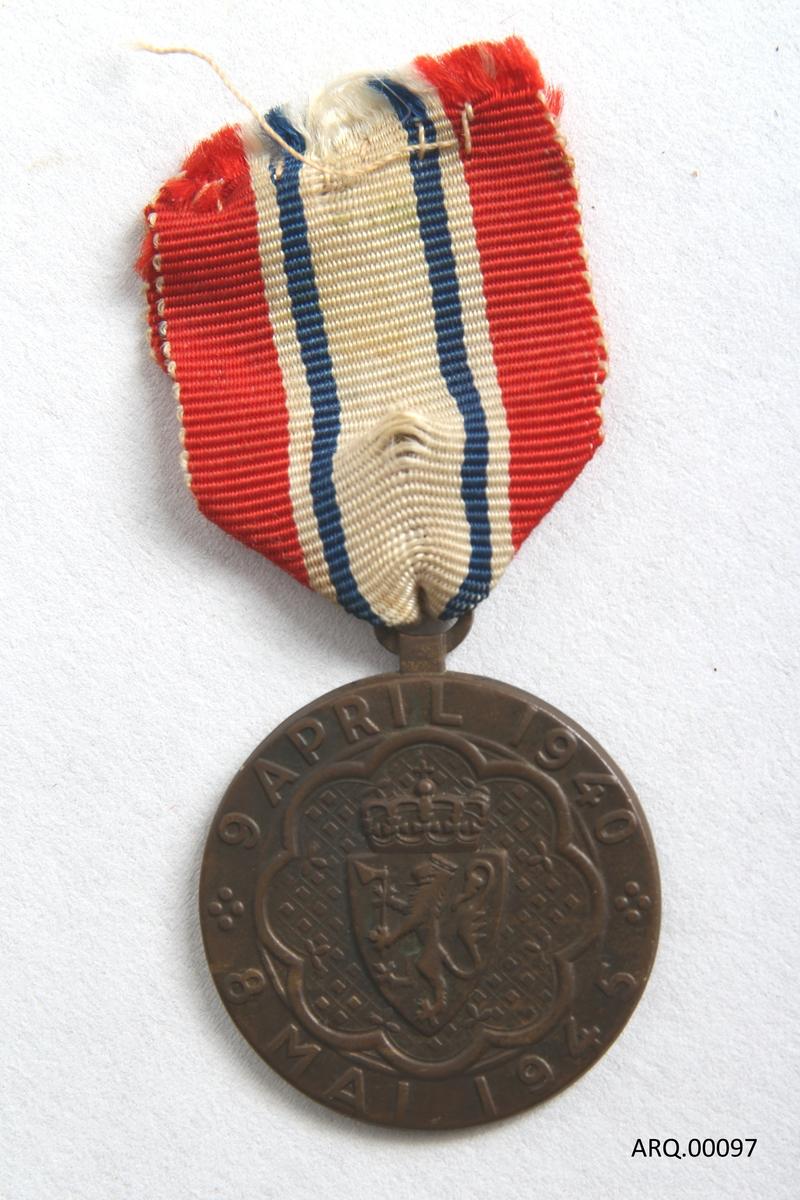 Medlaje for de som deltok under andre verdenskrig.