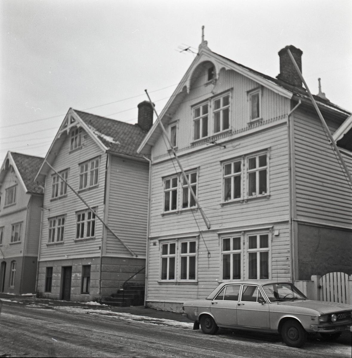 Sundgt. 138 og 140, Haugesund. Eksteriør.