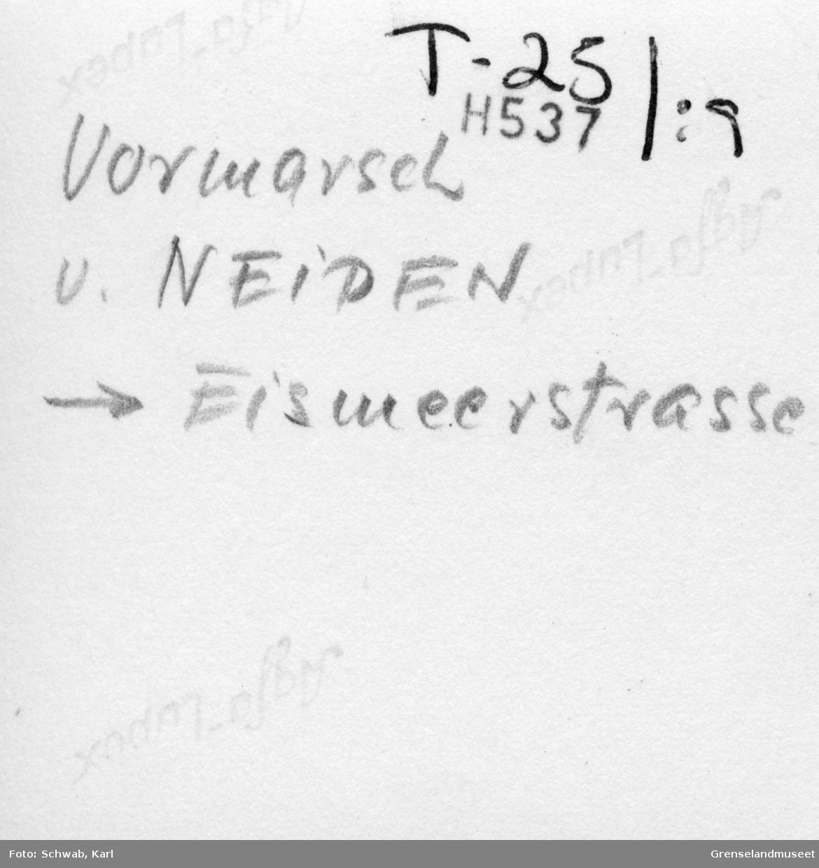 """""""Vormarsch v. Neiden - Eismeerstrasse"""""""
