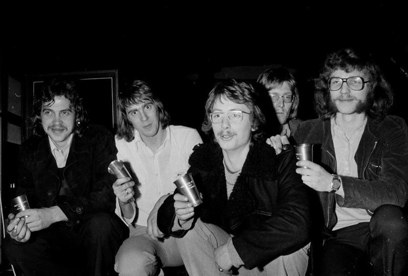 Jason. Fra venstre Stein Honne, Jan Aage Hansen, Torbjørn Ulleberg, Jens Petter Iversen og Arne Wraalsen. Foto: Bertil Lien.