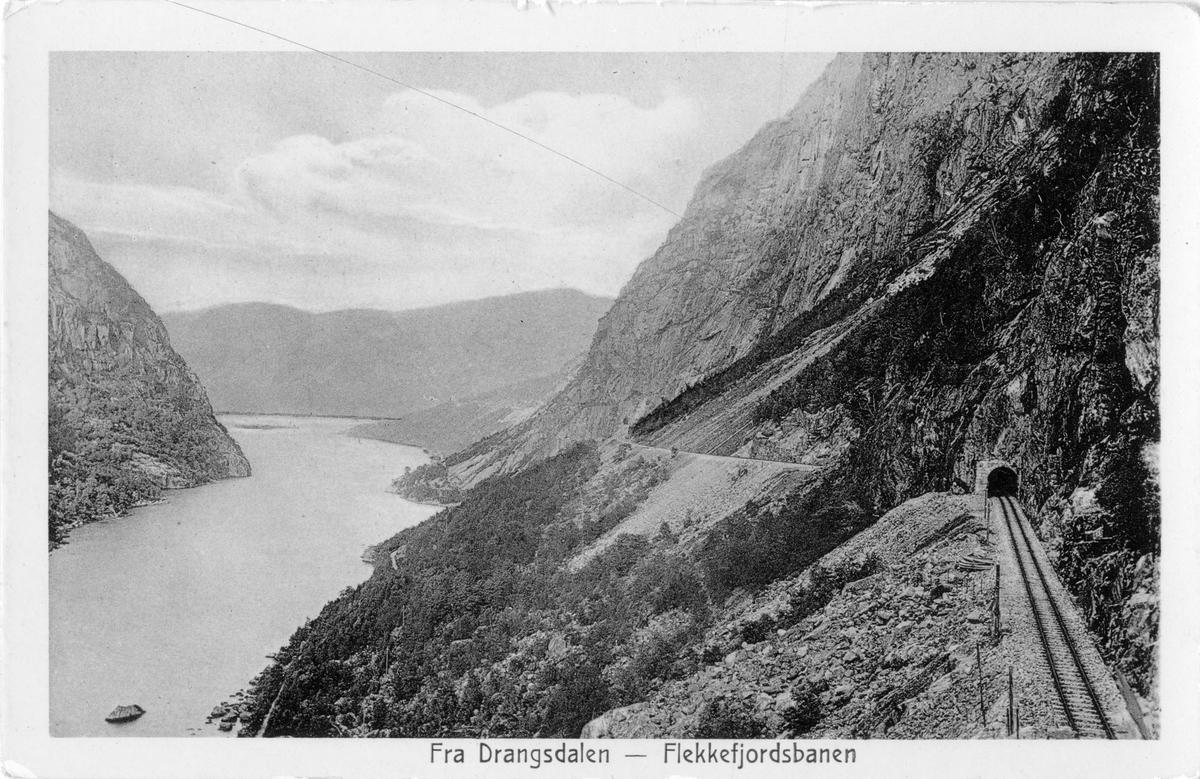 Flekkefjordbanen ved Drangsdalen