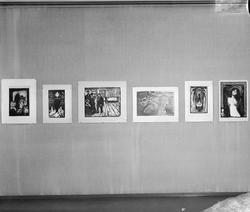Edvard Munch utstilling i Trondhjems Kunstforening