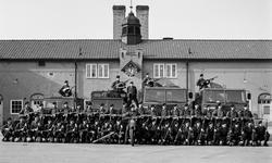 Södermanlands regemente, 1. beredskapsplutonen 1987