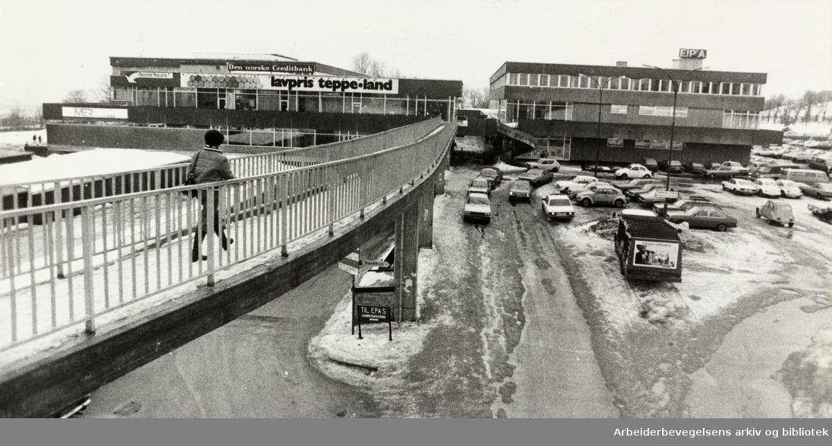 Linderud kjøpesenter. 1978
