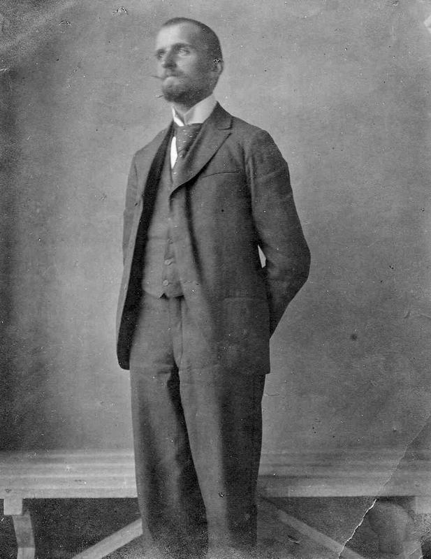 Hans Aall, fotografert i 1896 (Foto/Photo)