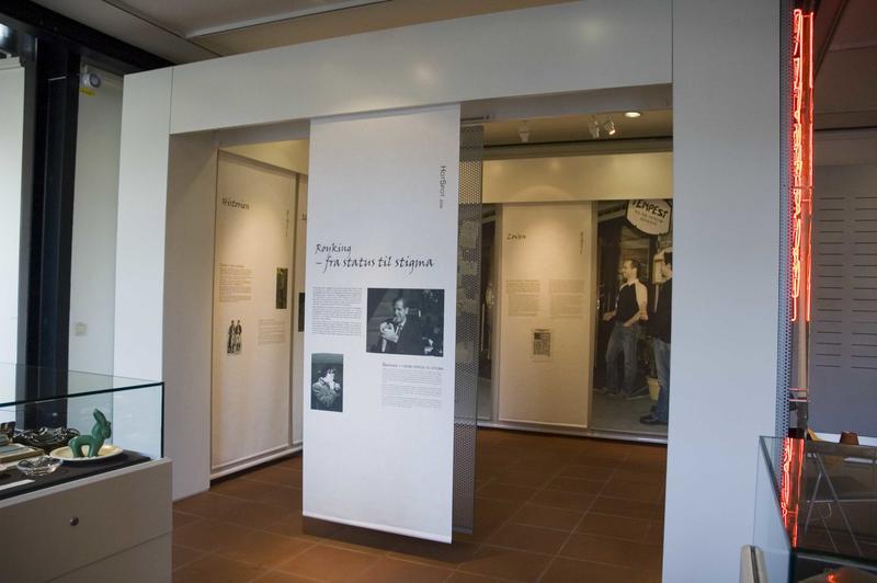 Hotspot utstillingen «Fra status til stigma». 2006. (Foto/Photo)