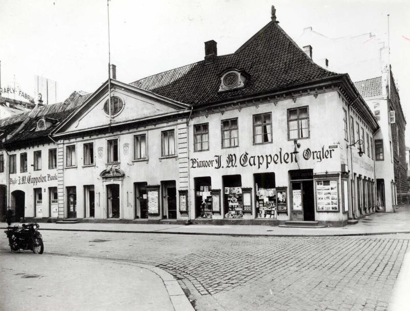 Collettgården, 1924.