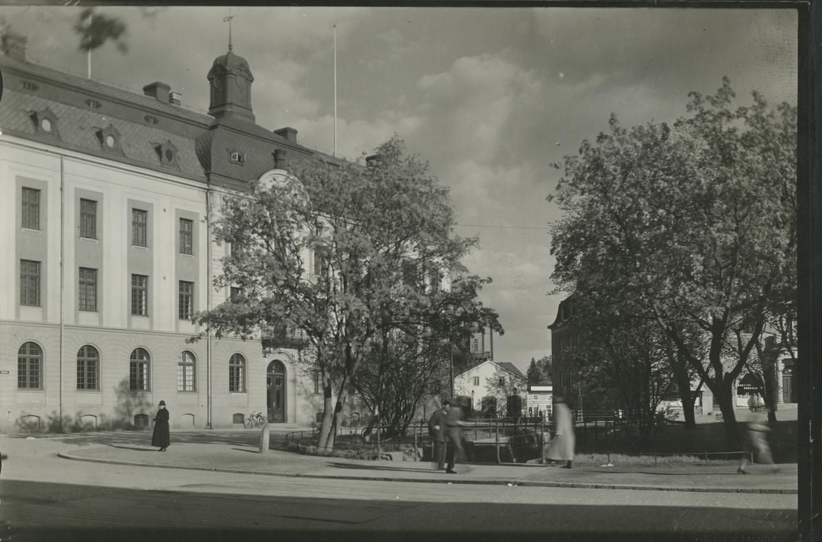 Sparbankshuset, centrala Hudiksvall.