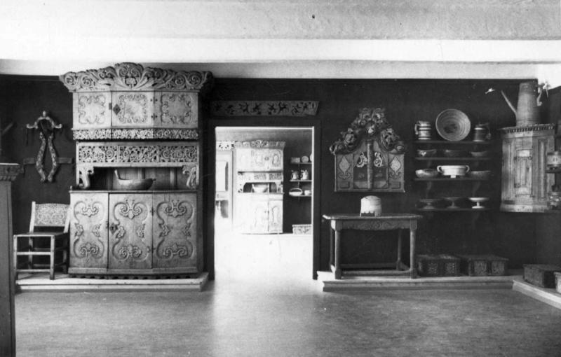 Fra Bygdesamlingen, åpnet i 1935. (Foto/Photo)