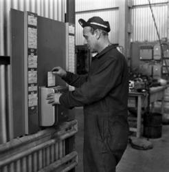 Svenska Aluminiumkompaniet. Reportagebilderför tidningen Vi