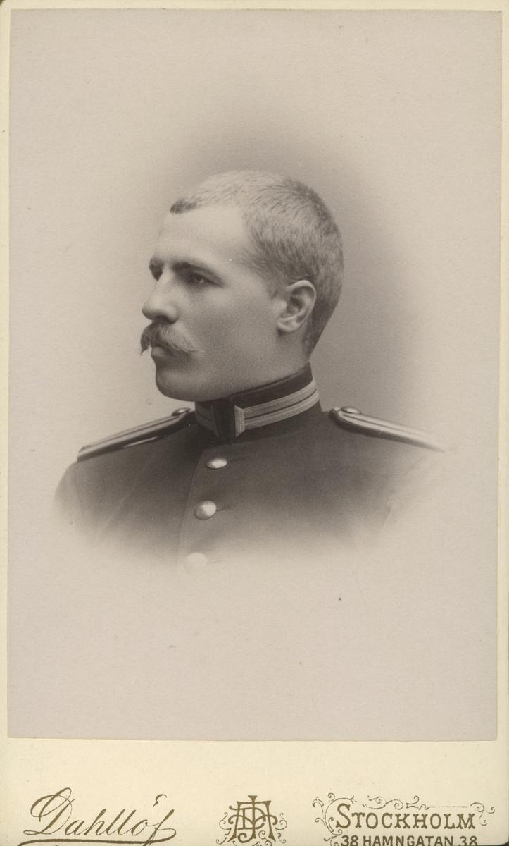 Mansporträtt, 1889. Gustaf Swedlund.