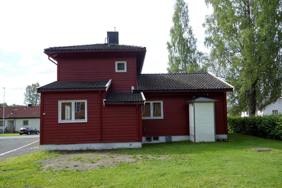 Bygning for administrasjon av Ila kvinnefengsel, fra 1938. Senere brukt til administrasjon av Grini fangeleir.