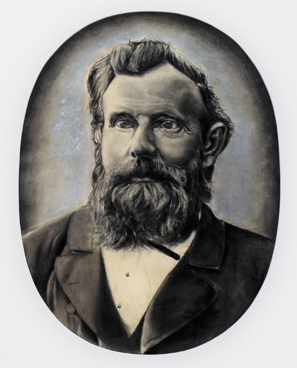 Statsagronom Niels Hansen - eier av Gjøvik gård fra 1861.