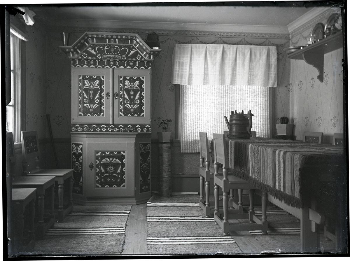 Interiör Gammelrummet i Olsbenning.