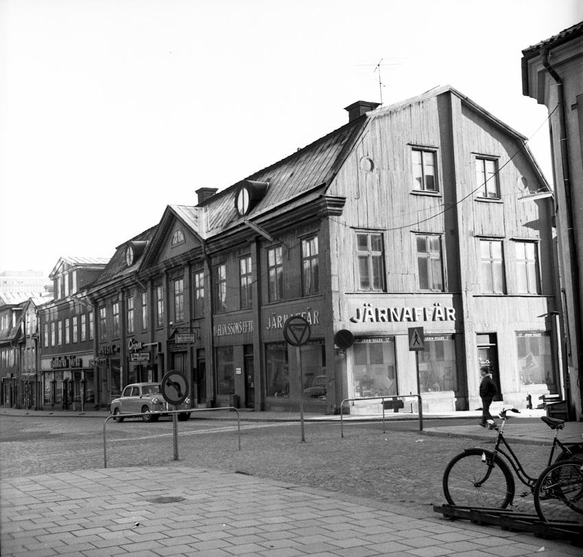 Korsningen Stora gatan/Vasagatan, Västerås.