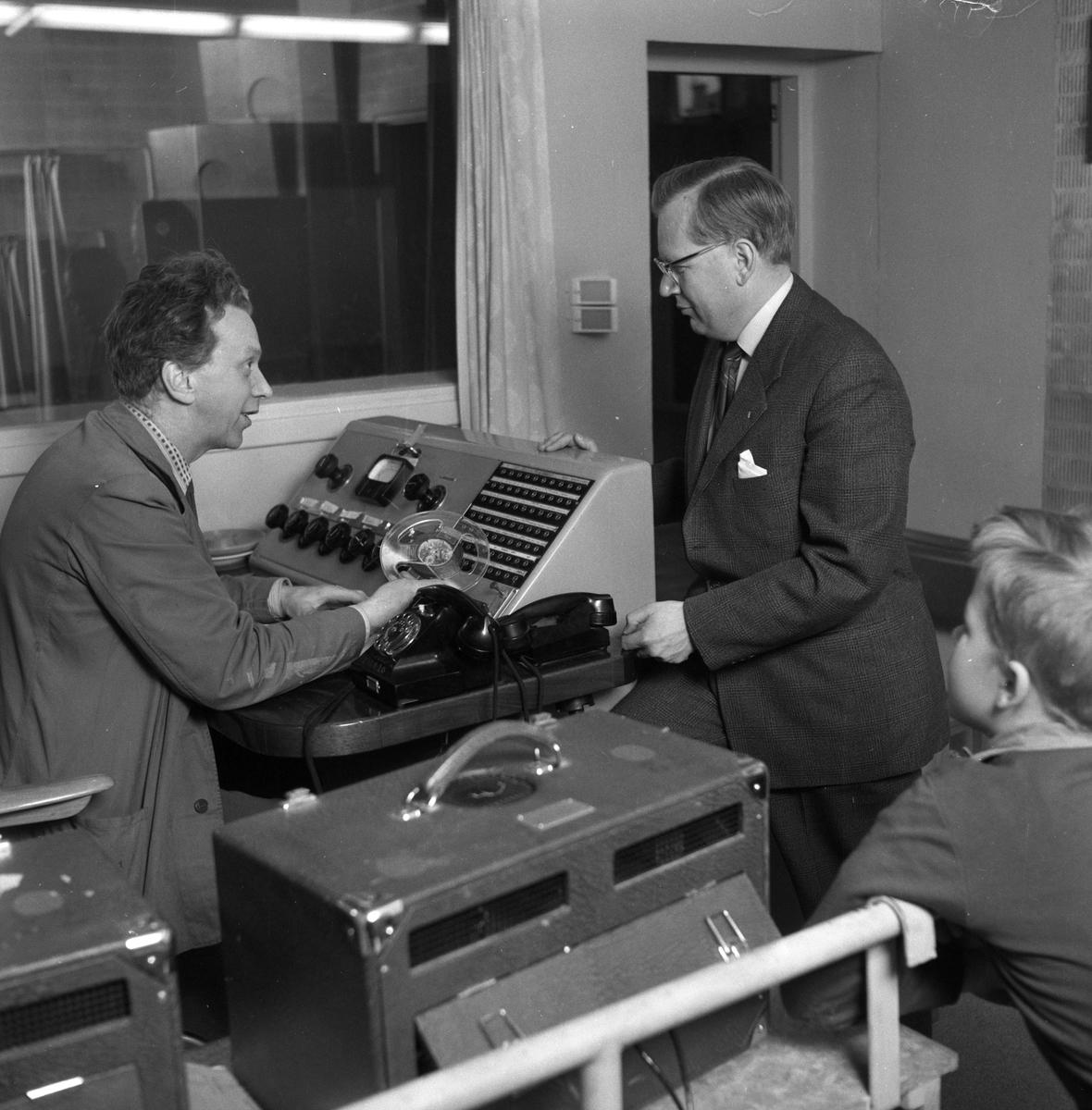 Örebro får radiokontor.  7 april 1959.