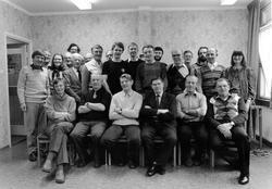 Gruppbild på representanter från Metalls avd 206 och Alingså