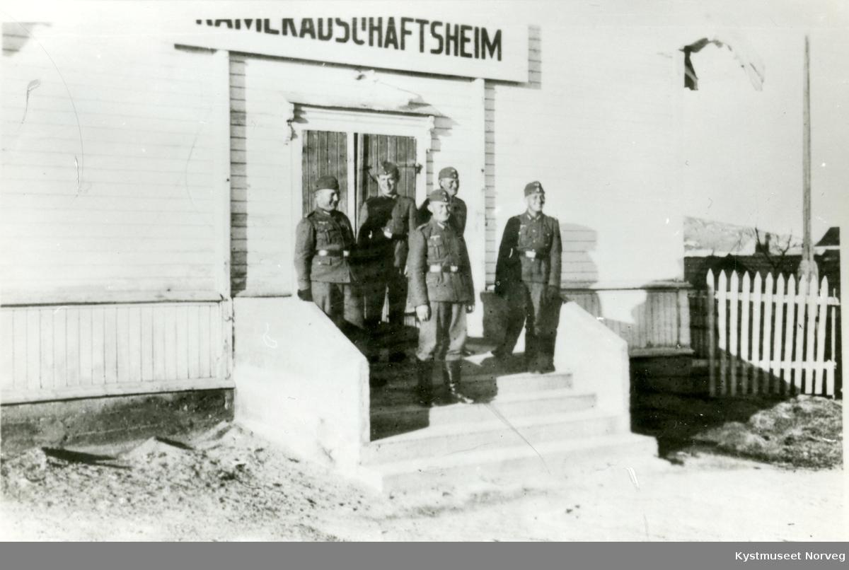 """""""Kameradschaftsheim"""" i det gamle losjelokalet på Rørvik"""