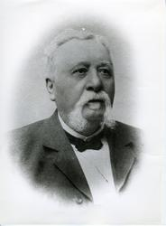 Seilskuteskipper  Lauritz Egeeris, bodde på Seiersten i Fred