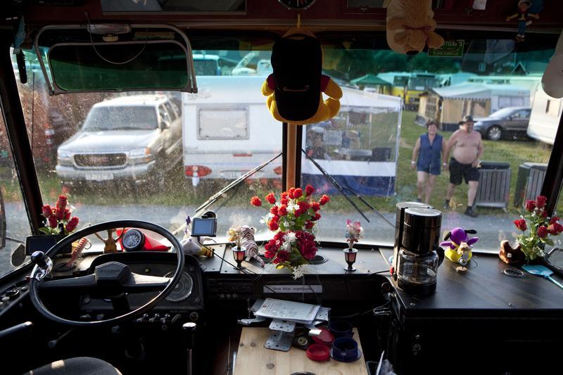 Danseband caravan interior, Seljord 2009 (Foto/Photo)
