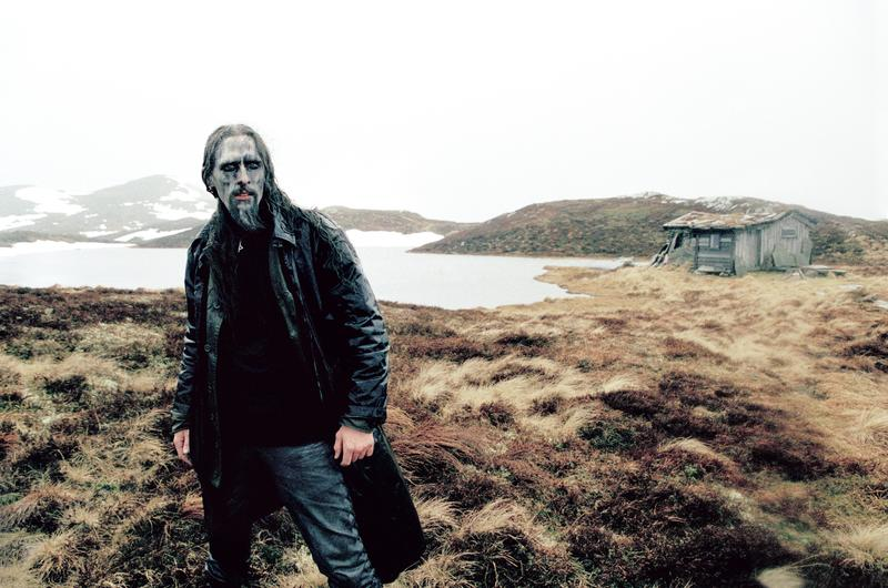 Gaahl at his grandparent's cabin, Espedal 2005